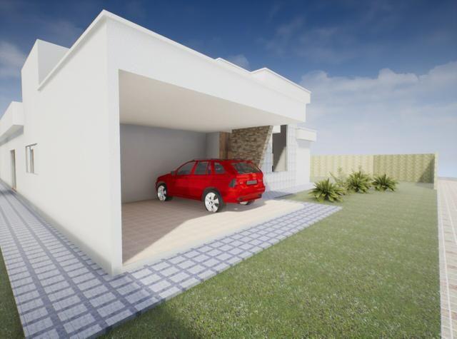 Maravilhosa casa 3 suítes, 2 garagens cobertas, condomínio estância Quintas da alvorada - Foto 4