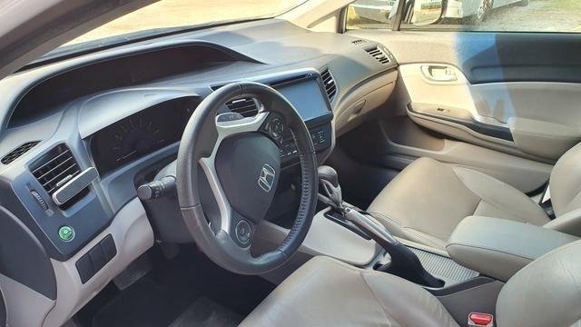 Já é o menor preço - Honda Civic LXR 2.0 flex automático 2015 - Foto 9
