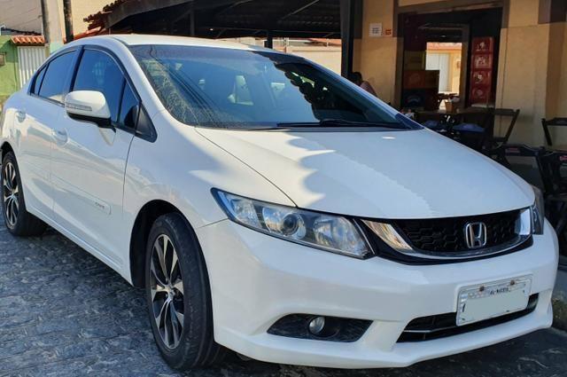 Já é o menor preço - Honda Civic LXR 2.0 flex automático 2015