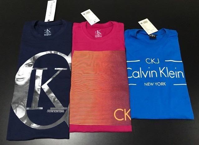Kit 20 Peças - Camisetas Malha Premium 100% Algodão Marcas Famosas - Frete  Grátis c2e9054937f