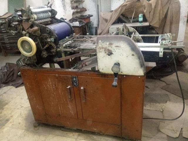 Máquinas Gráficas Industriais Usadas - Outros itens para comércio e ... 00775830fd1