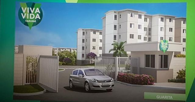 Apartamento Viva Vida Taruma 41m2 2Qtos - 128mil MCMV - Foto 6