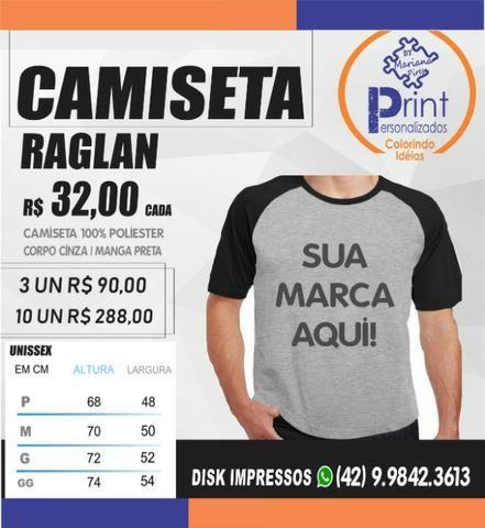 8419e2bb6 Camisetas Personalizada com a sua Marca - Outros itens para comércio ...