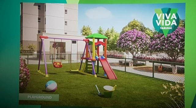 Apartamento Viva Vida Taruma 41m2 2Qtos - 128mil MCMV - Foto 9