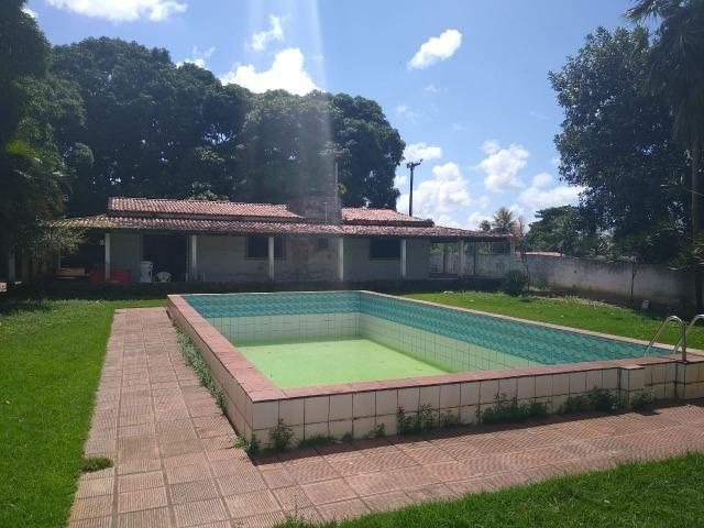 Terreno de 12.592m2 prox BR-406, RN, com casa, piscina e campos de futebol - Foto 12