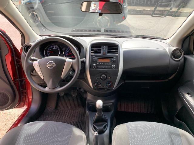 Nissan Versa SV 1.6 2018/2018 Completíssimo Financie Sem Entrada - Foto 8