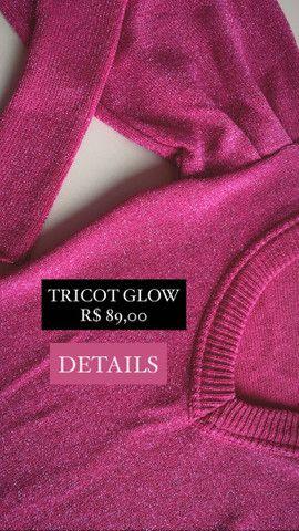 Tricot Lurex Pink