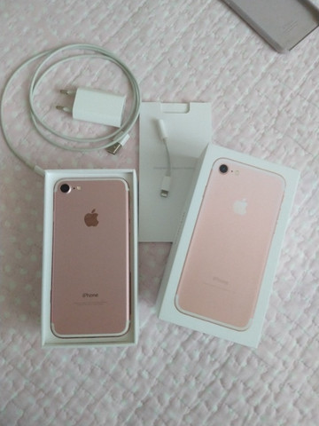 IPhone 7 ouro Rose 32gb - Foto 3