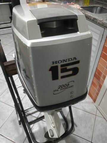 Vendo motor de popa Honda15 - Foto 6