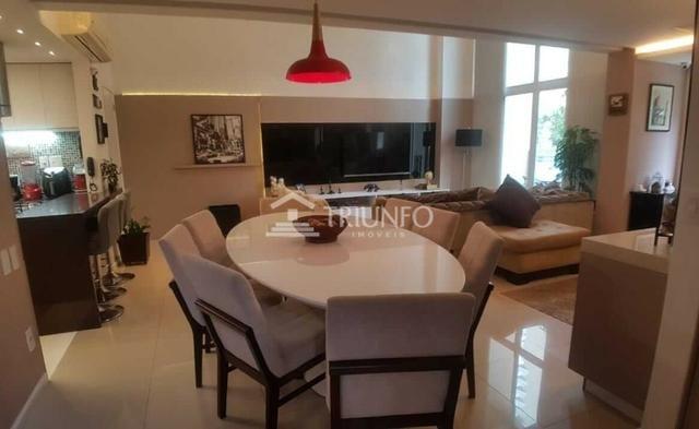 (ELI46095) Apartamento Duplex no Cocó 165m², 3 Suites, Todo Projetado, 3 Vagas - Foto 2