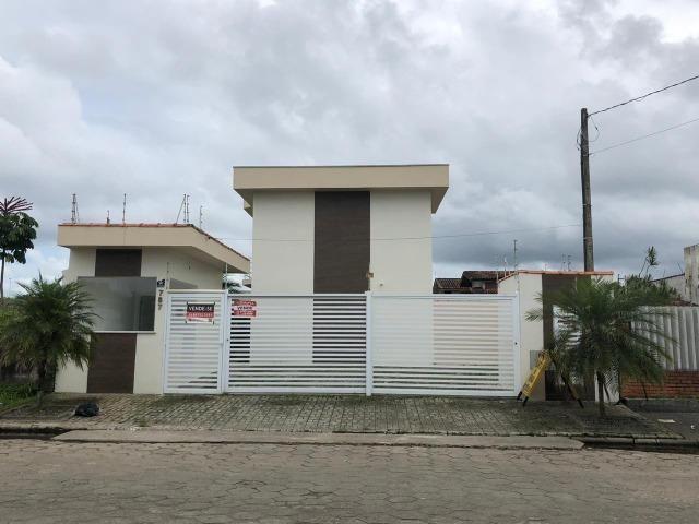 841- Sobrado em condomínio á venda, com 2 dormitórios (2 suítes) em Itanhaém - Foto 2