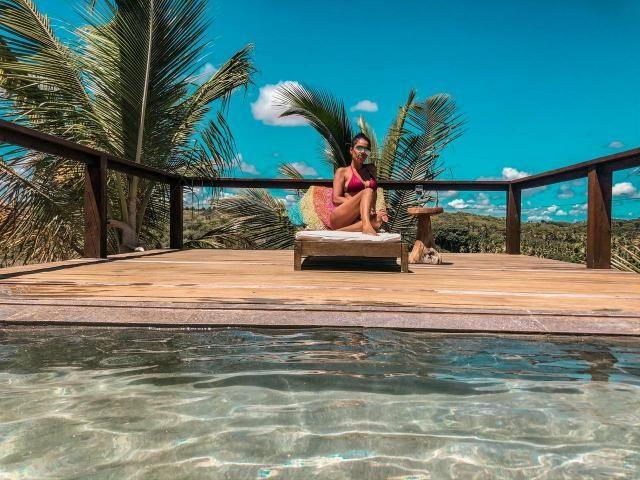 Casa de luxo 5 suites e wi-fi. 100 km de praia do Forte. Vista Paradisiaca - Foto 15