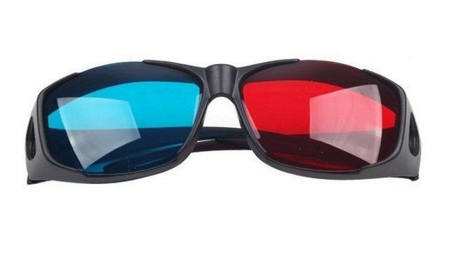 Óculos 3D Universal Azul e Vermelho Nvidia Vision - Realengo - Foto 2