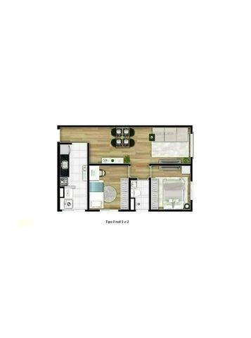 MA82= Apartamento de 50m² e 65m² com suíte, 2 dormitórios, 1 vaga - Osasco - Quitaúna - Foto 20