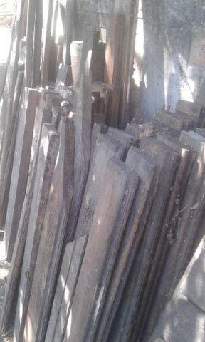 Colunas de madeira de lei, de demolição - Foto 4