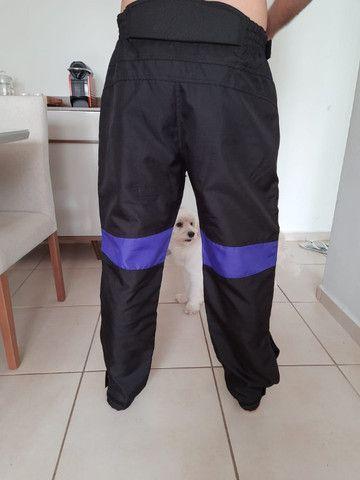 Jaqueta e calças motociclista - Foto 2