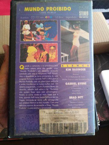 VHS O mundo proibido  - Foto 2