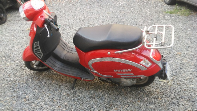 Moto retrô EX shineray