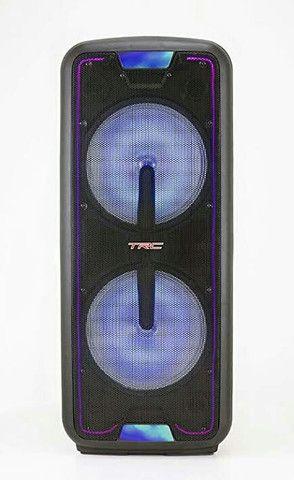 Caixa de som amploficada trc1400bt - Foto 2