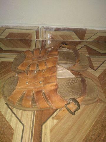 Sandália masculina de couro $50.00 - Foto 2