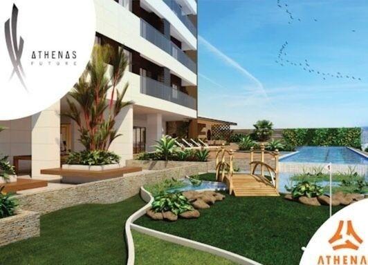 Residencial Athenas Future Living/ Apartamento 67,39m2/ 2 quartos (sendo 1 suíte)/ 1 vaga - Foto 12