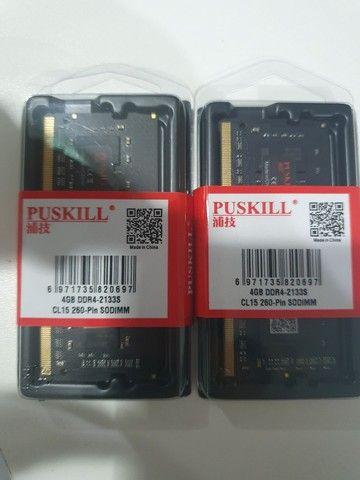 Memórias DDR4 NOTEBOOK 4GB 2133MHZ