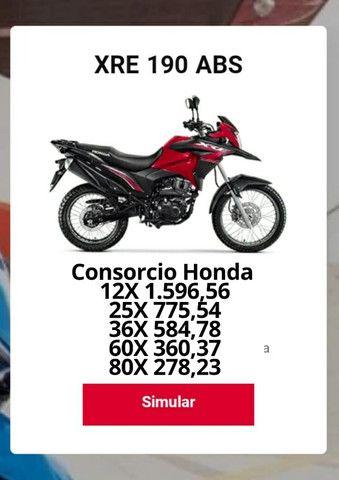 Moto Xre 190 atraves do cnh - Foto 2