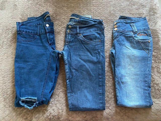 Calças Jeans Feminina - Foto 2