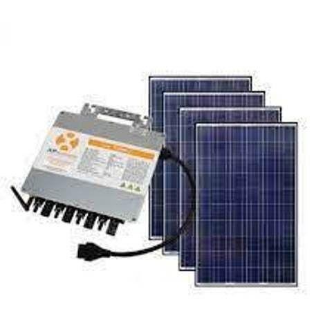 Kit Gerador Solar R$400,/mês Economia de Luz. 3,6kwp-8 Placas 450w