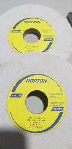 "Bits 3/8 x 6"" 12 + rebolo Norton ART FE 38A80K - Foto 2"