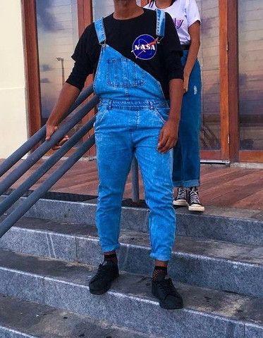 Macacão Masculino Jeans  - Foto 2