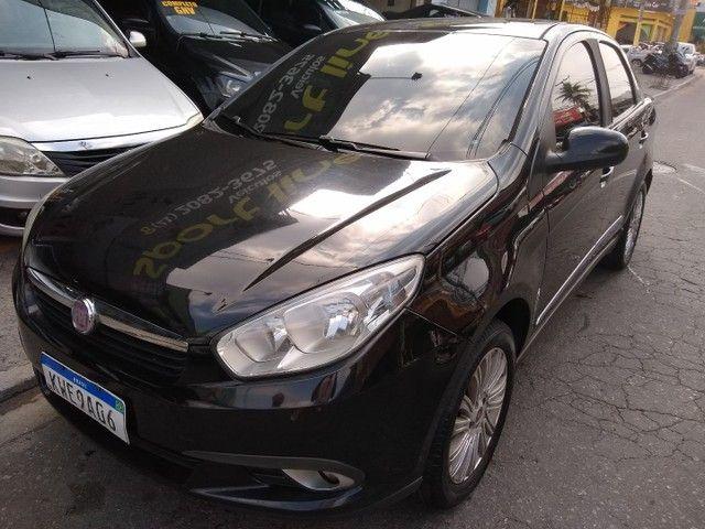 Fiat Grand Siena 1.6, 2014, completo, GNV,  33.900,00 - Foto 2