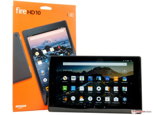 Tablet Amazon Fire HD10 - 32GB - NOVO - Loja Física