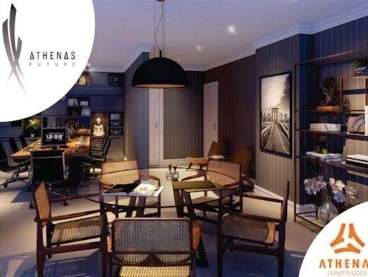 Residencial Athenas Future Living/ Apartamento 67,39m2/ 2 quartos (sendo 1 suíte)/ 1 vaga - Foto 15
