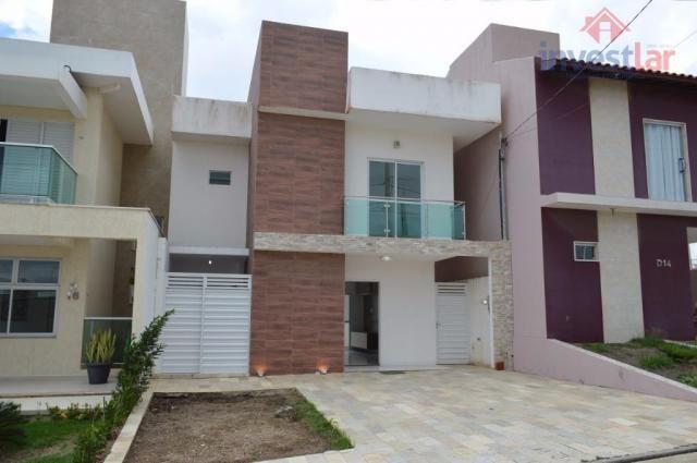 Duplex residencial à venda no Serra Ville Residence Prive, Campina Grande.