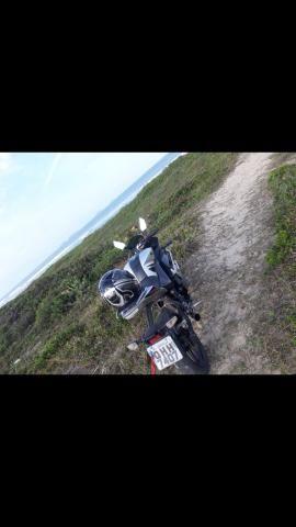 Vendo ou troco moto genata 250r ano2012 - Foto 2