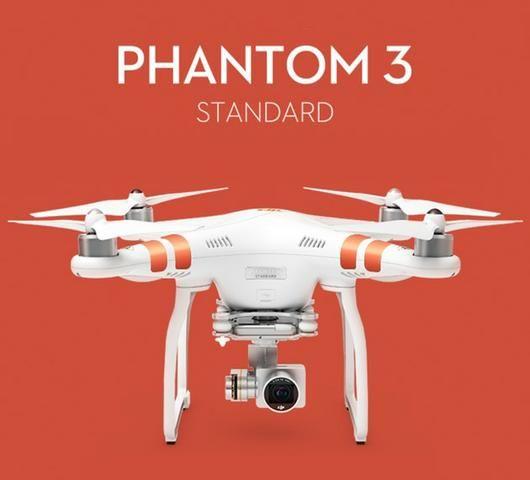 Drone Dji Phantom 3 Standard + Brinde