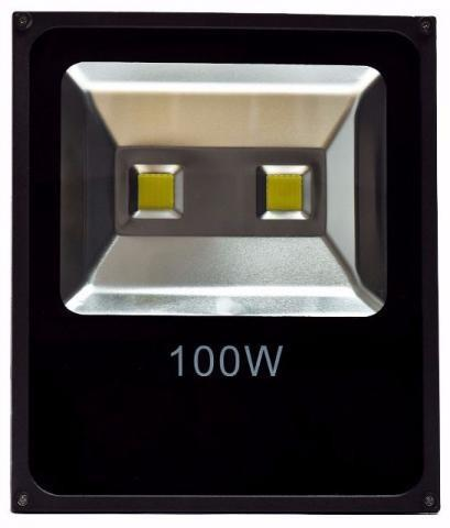 Refletor 100w Holofote LED Branco Frio Bivolt IP65 Garantia Loja Fisica Temos Motoboy - Foto 3