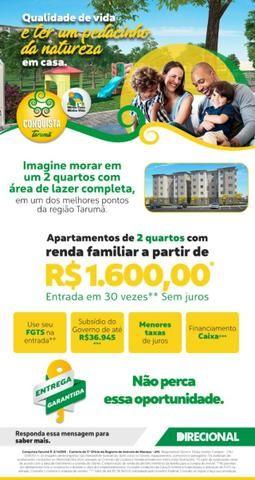 Apartamento Viva Vida Taruma 41m2 2Qtos - 128mil MCMV - Foto 11