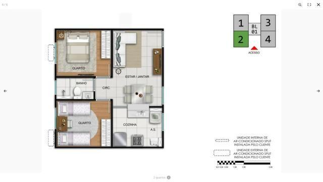 Complexo Fonte das Artes-2 quartos na Messejana- - Foto 8