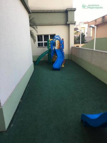 Apartamento com 3 dormitórios à venda, 60 m² por r$ 330.000 - parque bandeirante - santo a - Foto 12