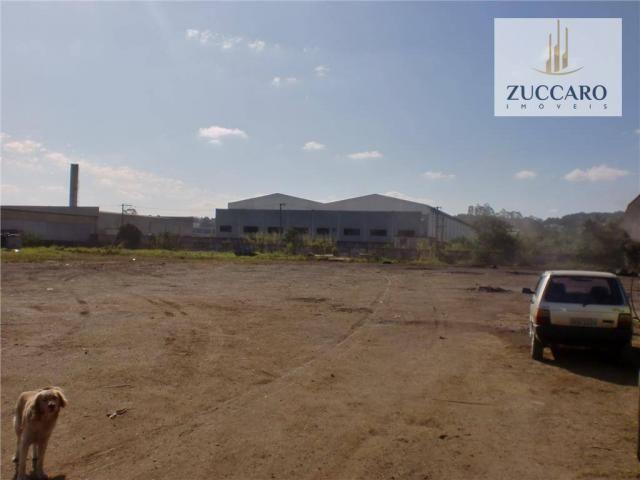 Terreno industrial para locação, vila nova bonsucesso, guarulhos - te0408. - Foto 6