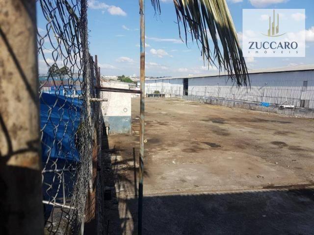 Área industrial para locação, ponte grande, guarulhos - ar0149. - Foto 3