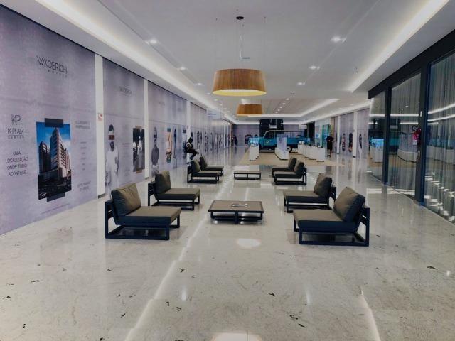 Ampla sala comercial nova com garagem para alugar em Campinas São José - Foto 9