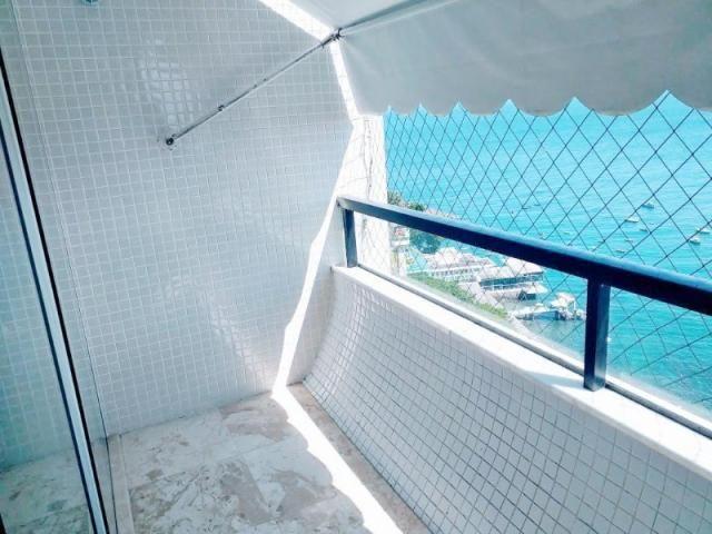 Três quartos, Ladeira da Barra, vista mar - Foto 11