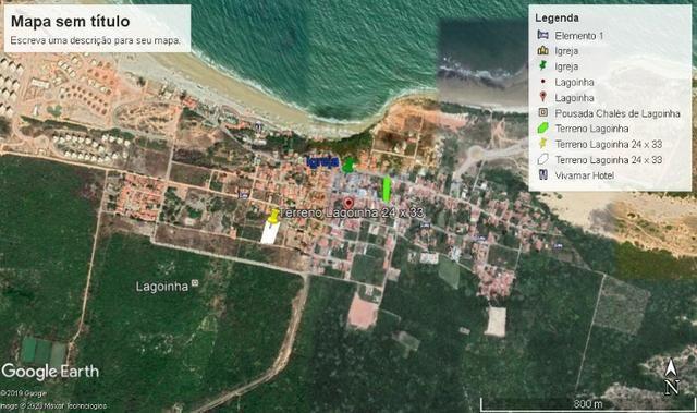 Terreno Praia de Lagoinha - Paraipaba (CE) (24 x 33m) - Foto 6