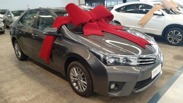 Toyota 2016/2017 Corolla xei 2.0 Automatico cinza completo confira - Foto 3