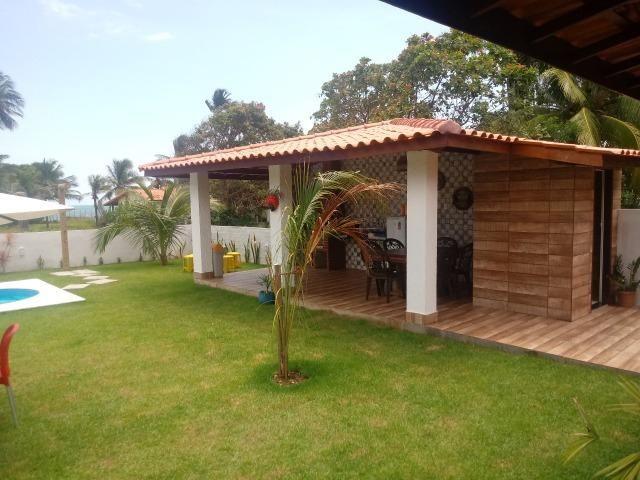 Linda Casa, Frente a Praia, Ilha Itaparica, Piscina, Cond. Fechado, Toda Mobiliada! - Foto 3