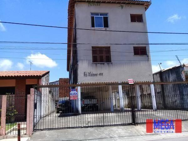 Apartamento com 2 dormitórios para alugar, 100 m² por R$ 1.100,00/mês - Amadeu Furtado - F