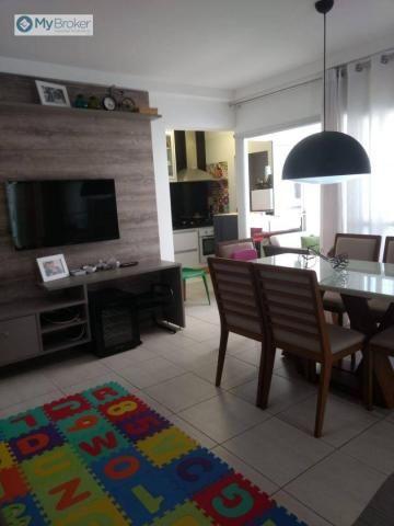 Apartamento com 2 dormitórios à venda, 65 m² por R$ 330.000,00 - Jardim Goiás - Goiânia/GO